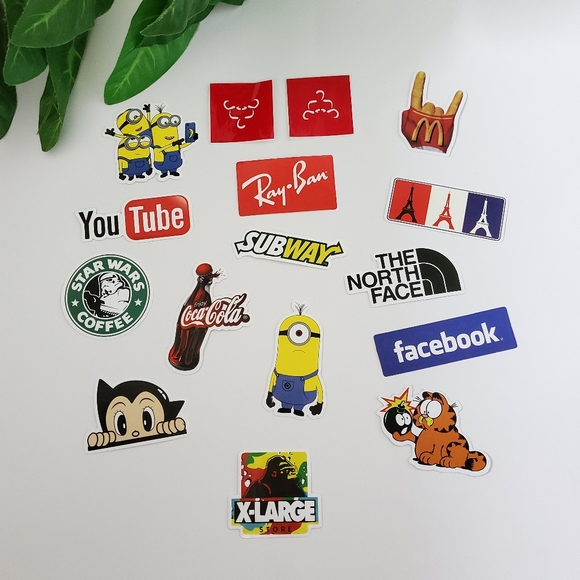Other - 16 Pc Sticker Pack Bundle